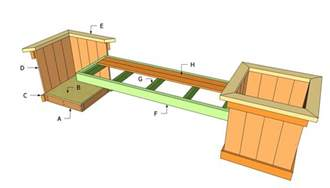wooden planter plans wooden outdoor benches plans