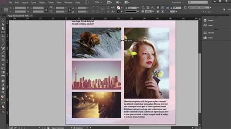 creating indesign master page creating and applying master pages in indesign tutorial