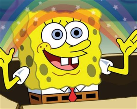 awesome imagination spongebob meme on meme creator spongebob imagination meme generator at