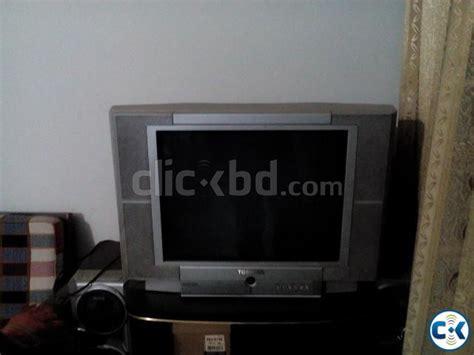 Tv Toshiba 21 Flat toshiba 21 inch flat tv clickbd