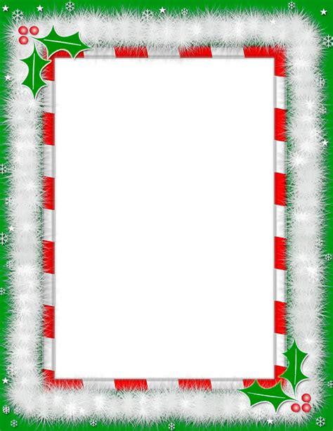 christmas frame page frames holiday christmas christmas