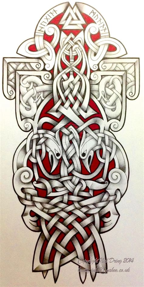 celtic art tattoo designs ravens by design deviantart on deviantart