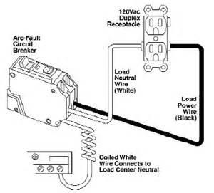 arc faultdiag arc fault breaker wiring diagram on shunt trip circuit breaker wiring diagram
