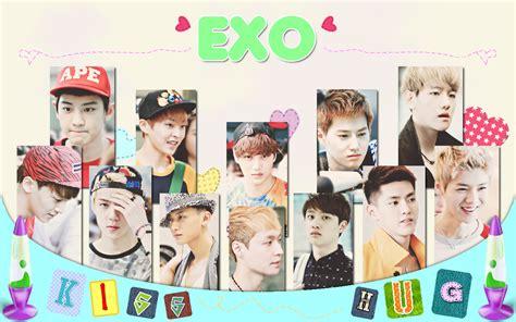 exo profile wallpaper exo profile kpop music