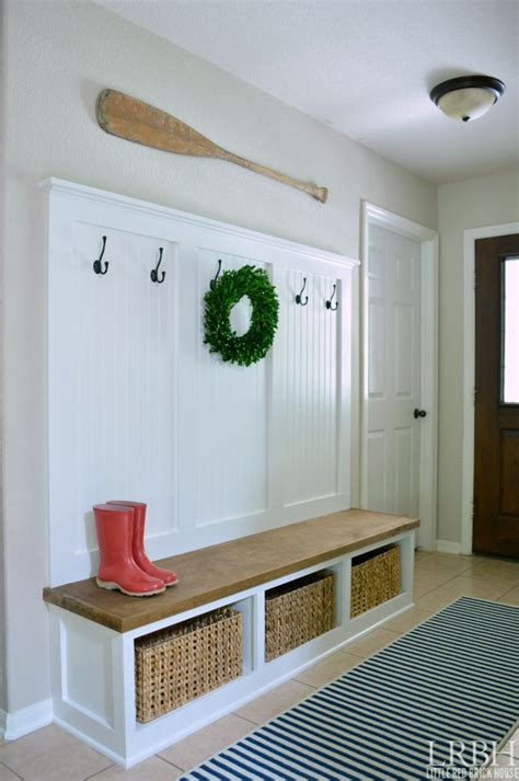 diy mudroom bench plans 25 best ideas about entryway storage on pinterest