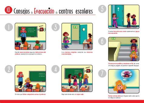 imagenes de simulacros escolares evacuacion centros escolares