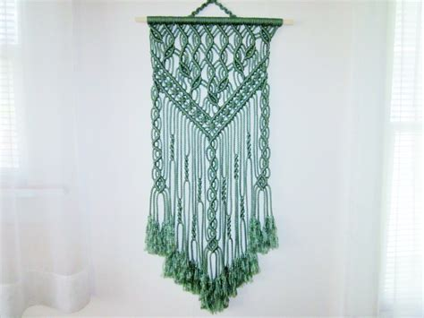 macrame wall hanging handmade macrame home decor by