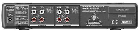Mini 2 Termurah termurah behringer mini series com800 beat800 mix800
