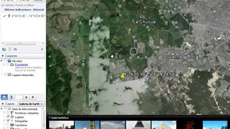imagenes ocultas de google earth coordenadas ubicaci 243 n de coordenadas por google earth youtube