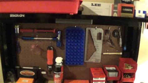 stack on reloading bench review stack on reloading bench and supplies youtube