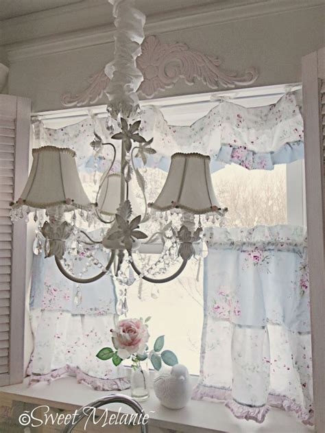 top 28 shabby chic window shades simply shabby chic 174 sheer window panel rose print