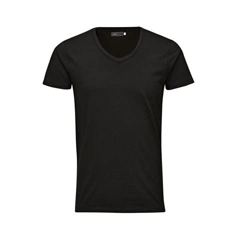 T Shirt White Quality Basetafany jones v neck quality plain t shirts black grey