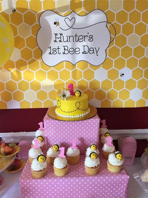 bumble bees birthday party ideas photo    catch
