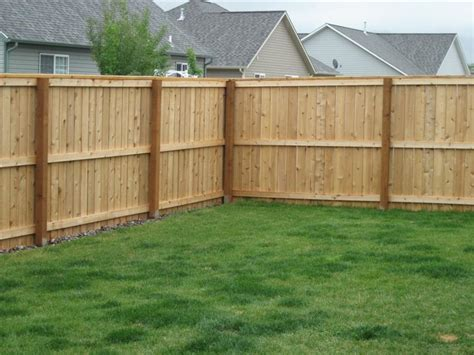 wood fence building fences