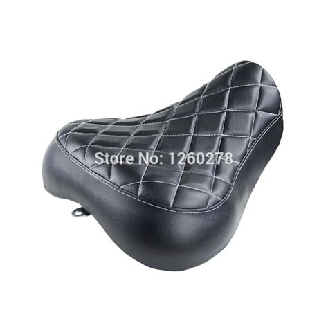 sportster bench seat motorcycle black low profile custom solo seat for harley