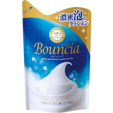 Cow Bouncia Soap 430ml バウンシアボディソープ バウンシアボディソープ 牛乳石鹸共進社株式会社