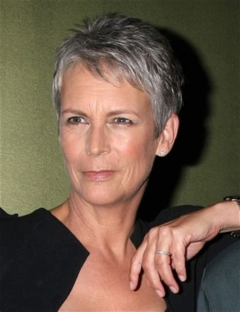 pictures of jamie lee curtis haircuts jamie lee curtis natural hairstyle try this pinterest