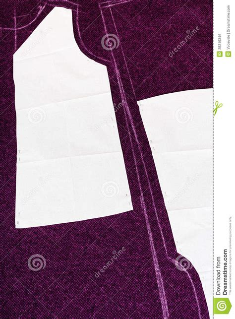 Dress Pattern Tracing Paper | tracing paper forms of dress pattern cutting royalty free
