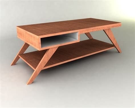 Retro Style Coffee Table Retro Modern Eames Style Coffee Table Furniture Plan