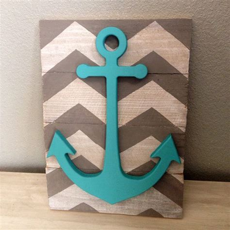 chevron bathroom ideas best 25 anchor wall decor ideas on nautical