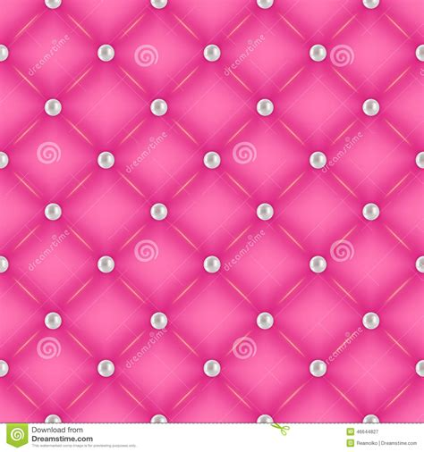 pink quilted wallpaper seamless pink quilted background with pearl pins