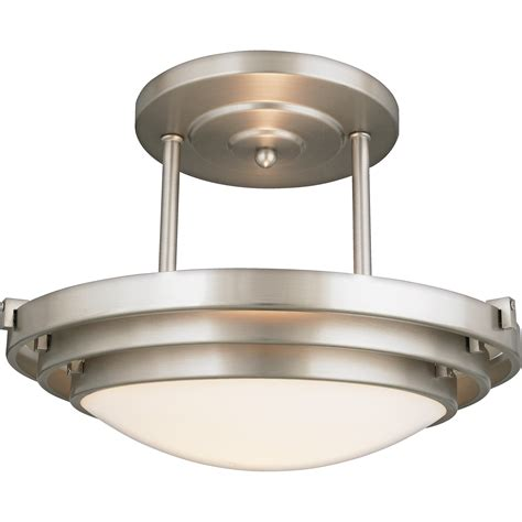 Modern Flush Ceiling Lights Quoizel El1284cb Electra Modern Contemporary Semi Flush Mount Ceiling Light Qz El1284cb