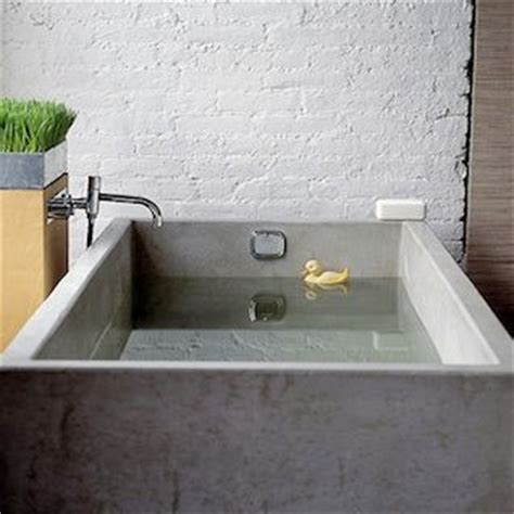 concrete bathtub diy concrete sink and tub roundup by