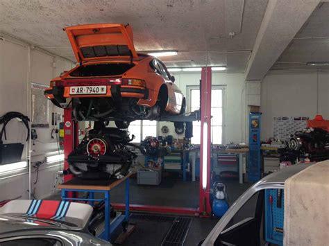 werkstatt in der garage werkstatt 187 911 rs alte 11er garage