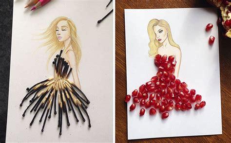 Garpu Dan Kapak Acsesories 1 armenian illustrator completes his cut out dresses with