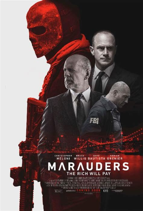 film action bruce willis marauders see the trailer and poster for bruce willis