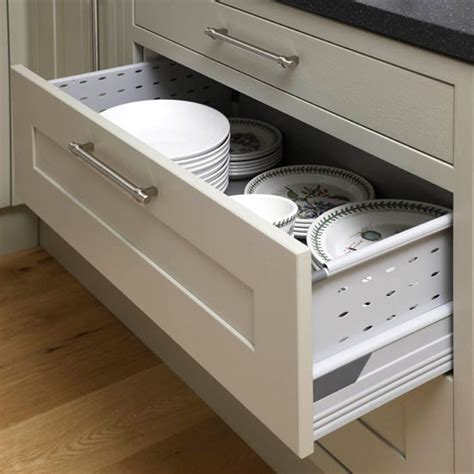 kitchen drawer plate organizers uk plate drawers be inspired by this contemporary open plan