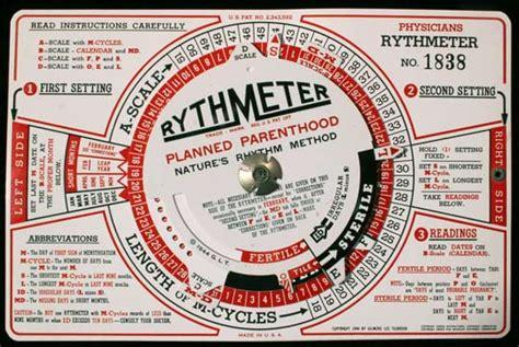 Calendar Rhythm Method History Of Contraception Rhythm Method