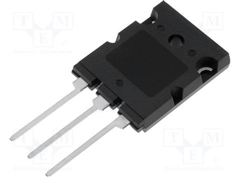 transistor pnp uitleg mjl1302ag on semiconductor transistor pnp tme electronic components