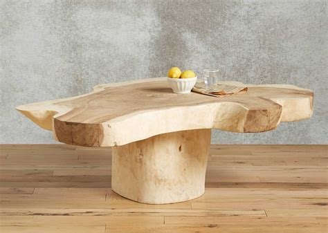 Tree Decor For Home live edge coffee table wood furniture biz