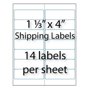 avery template 5162 address labels 1 1 3 x 4 quot 14 up avery 174 5162 5962