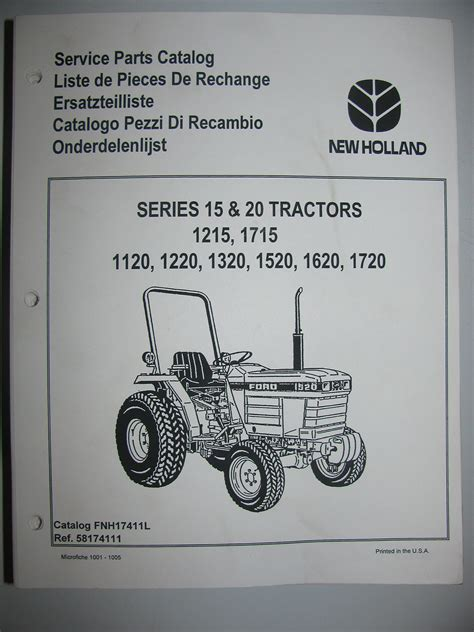 1720 ford tractor parts list wiring diagrams wiring