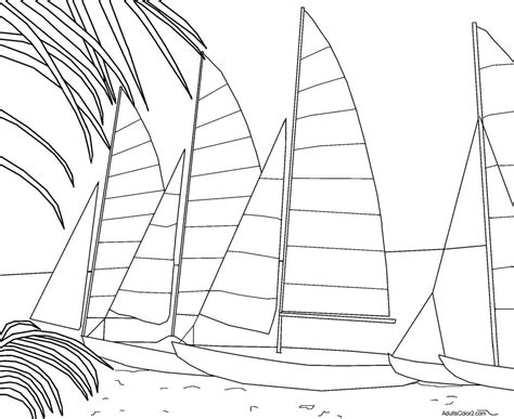 Florida Keys Coloring Pages | beach coloring pages imagine you re there without a care
