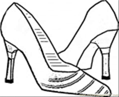 Coloring Pages Italian Shoes Coloring Page Entertainment Shoe Coloring Pages