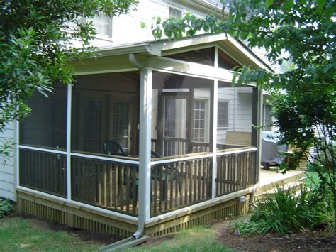 screen porch plans do it yourself screened porch building plans