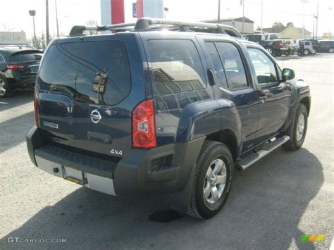 2010 navy blue metallic nissan xterra s 4x4 45395775 photo 9 gtcarlot car color galleries