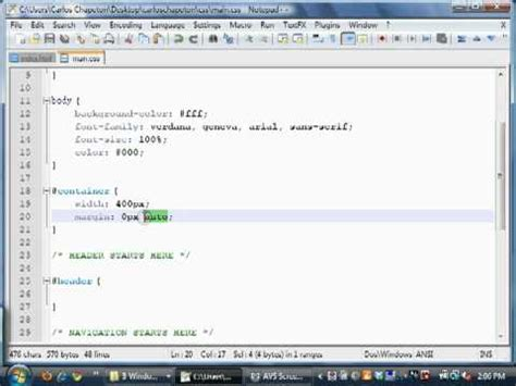 css tutorial quick quick html css tutorials the container wrapper youtube