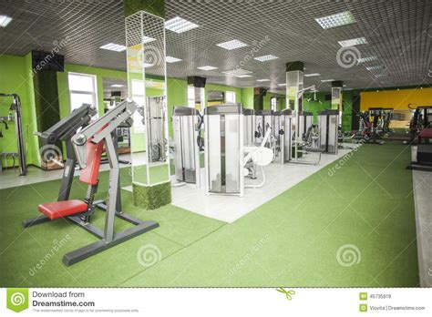 exercise equipment in bedroom gym equipment room stock photo image 45735918