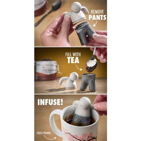 Mr Tea Mr Teh mr tea infuser saringan teh gray jakartanotebook