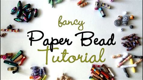 Paper Jewellery Tutorials - fancy paper tutorial tutorials