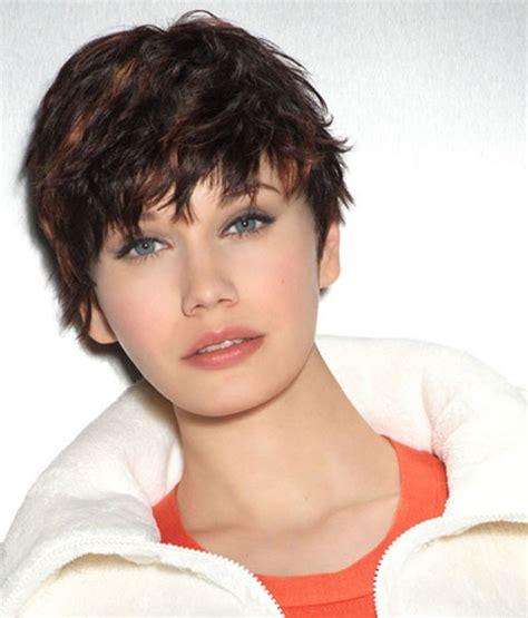 brunette haircuts pinterest short wavy hairstyles brunette best short hairstyles for