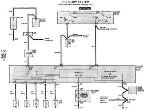 glow timer relay wiring diagram glow free engine