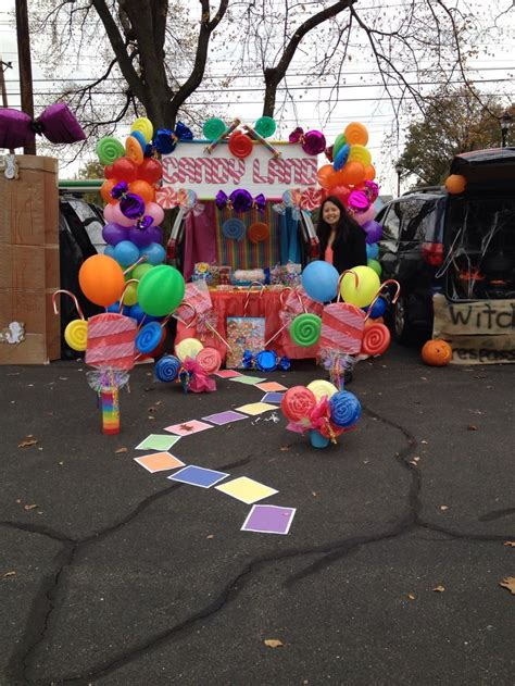 halloween tailgate themes candyland theme trunk or treat 2014 trunk or treat