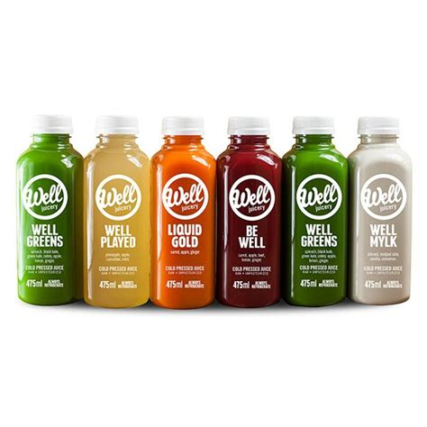 Calgary Juice Detox by Well Cold Pressed Juice Cleanses Spud Ca