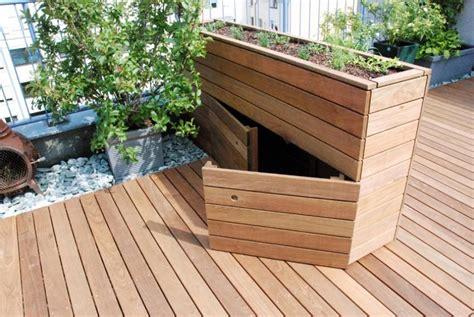 Sichtschutz Holz Modern 308 by Hochbeet Mit Integriertem Stauraum Garden