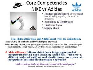 Nike Strategic Analysis Core Competences And Knowledge